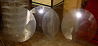 Circular Glass Plates For Sale