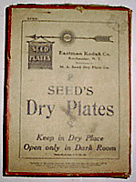 Kodak Seed's Dry Plates For Sale